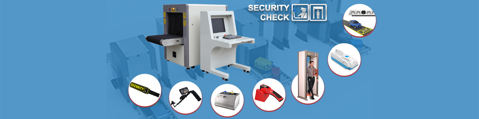 China best X Ray Bagage Scanner op verkoop