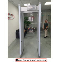 China Zes Strekengang door Metaaldetector 2200 x 860 x 440mm Verticale Afmeting fabriek
