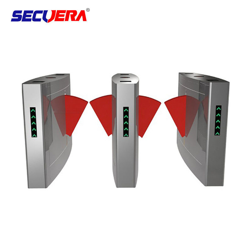 Electronic Bridge Type Swing Turnstile Barrier Gate Access Control Coin Operated System