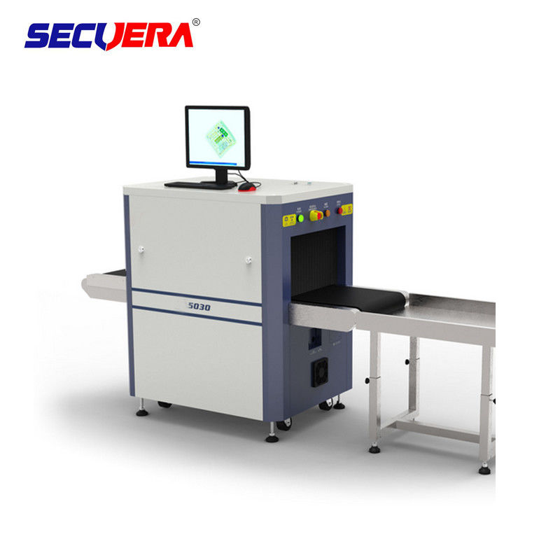 High Penetration X Ray Inspection Systems , X Ray Screening Equipment For Airport baggage x ray scanning machine