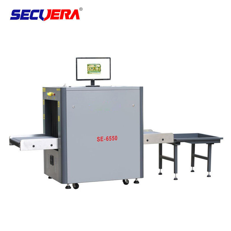 Automatic Alarm Airport X Ray Baggage Inspection System 304 SS 3 Years Warranty